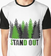 Standing Forest Graphic T-Shirt