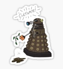 Dalek Retrement - Dr Who's Orders | CULTIVATE Sticker