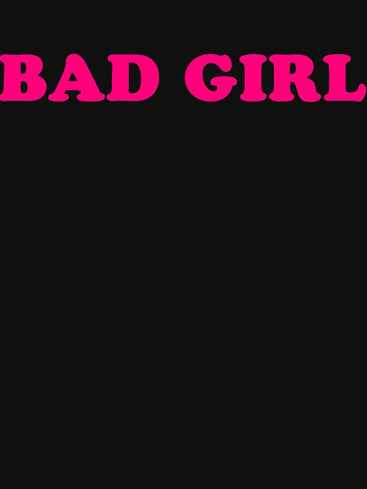 BAD GIRL by travistees