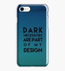 Red Hot Chili Peppers Dark Necessities iPhone Case/Skin