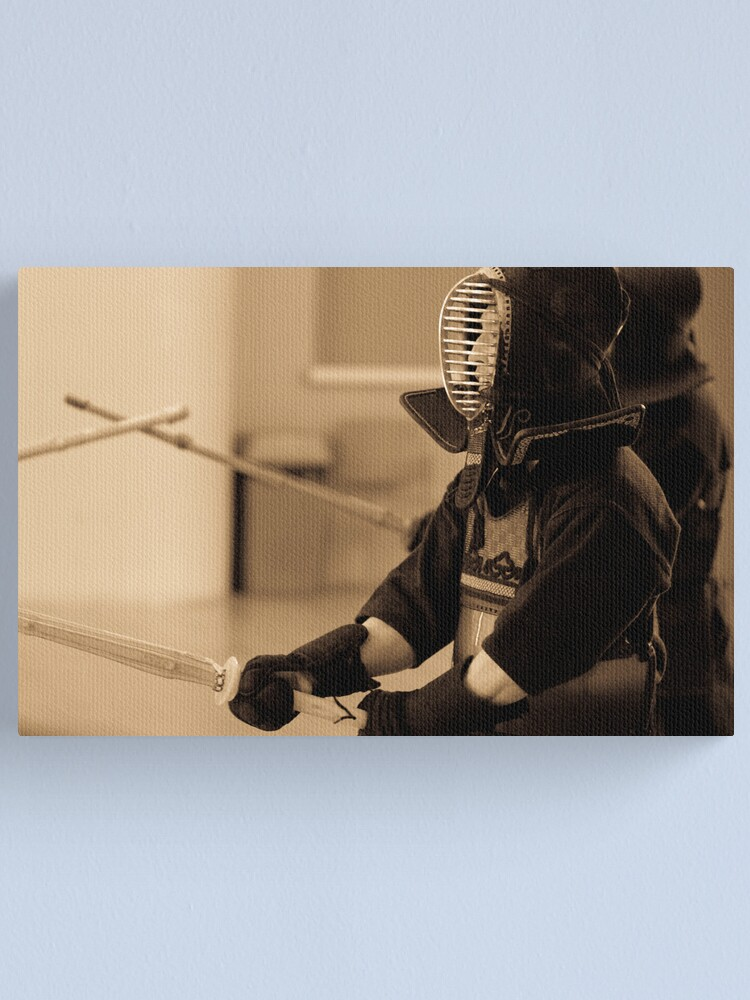 Alternate view of Kendo Lineup Canvas Print