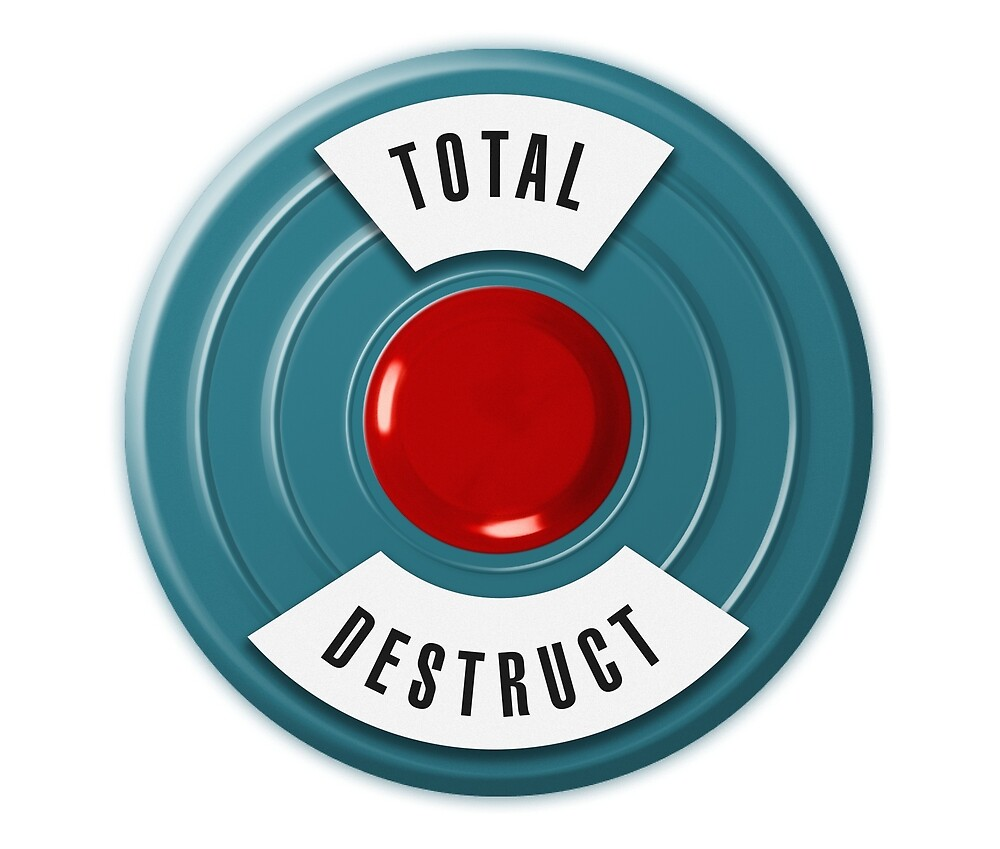TOTAL DESTRUCT by Clayton Hickman