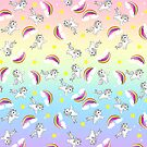 Unicorns, Rainbows & Stars by Jessica Slater