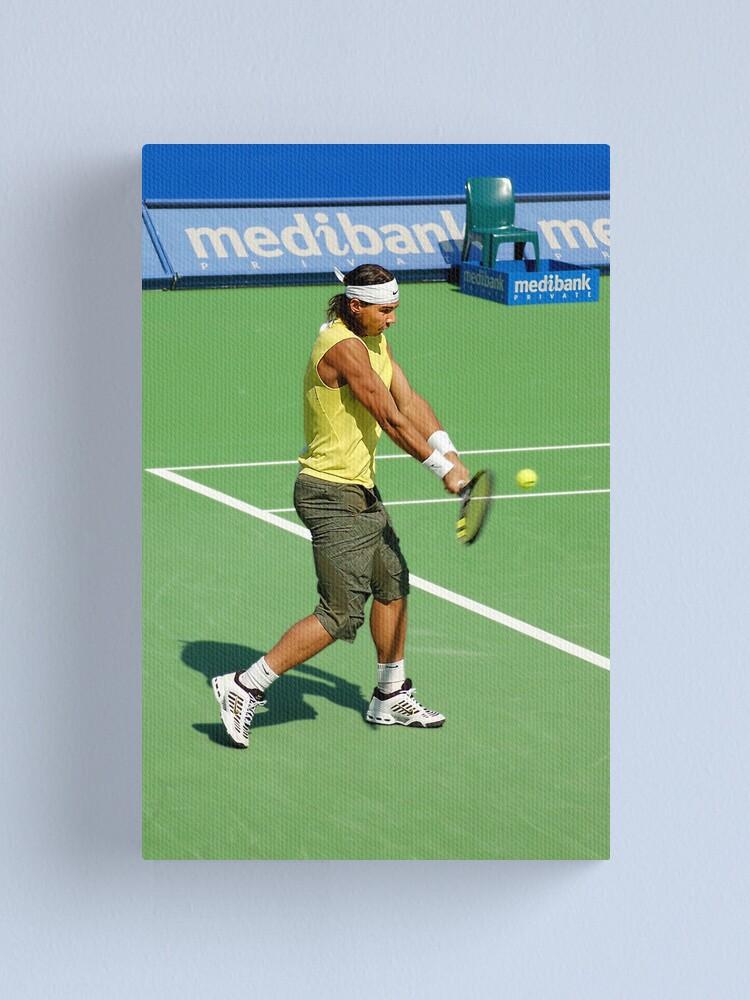 Alternate view of Backhand (Rafael Nadal) Canvas Print