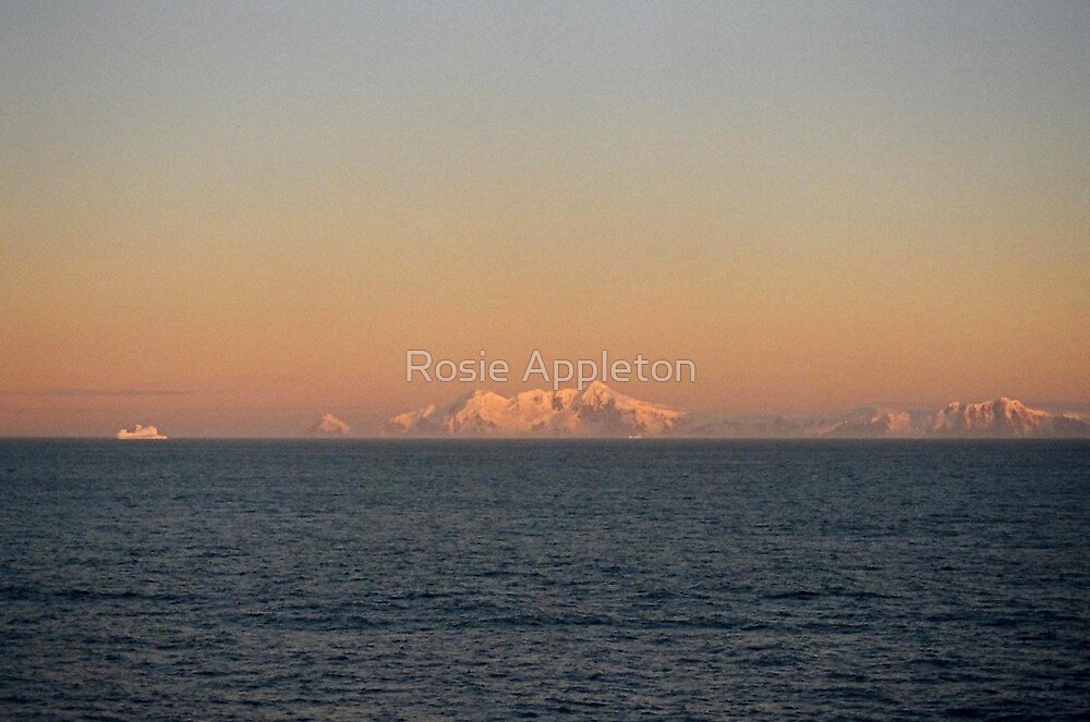 Antarctic Sunset by Rosie Appleton
