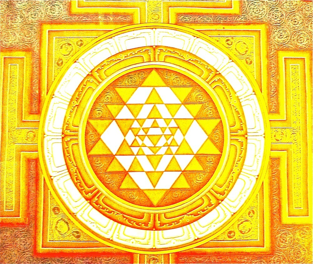 Shri Yantra and the 9 triangles of Manifestation by Timaeon