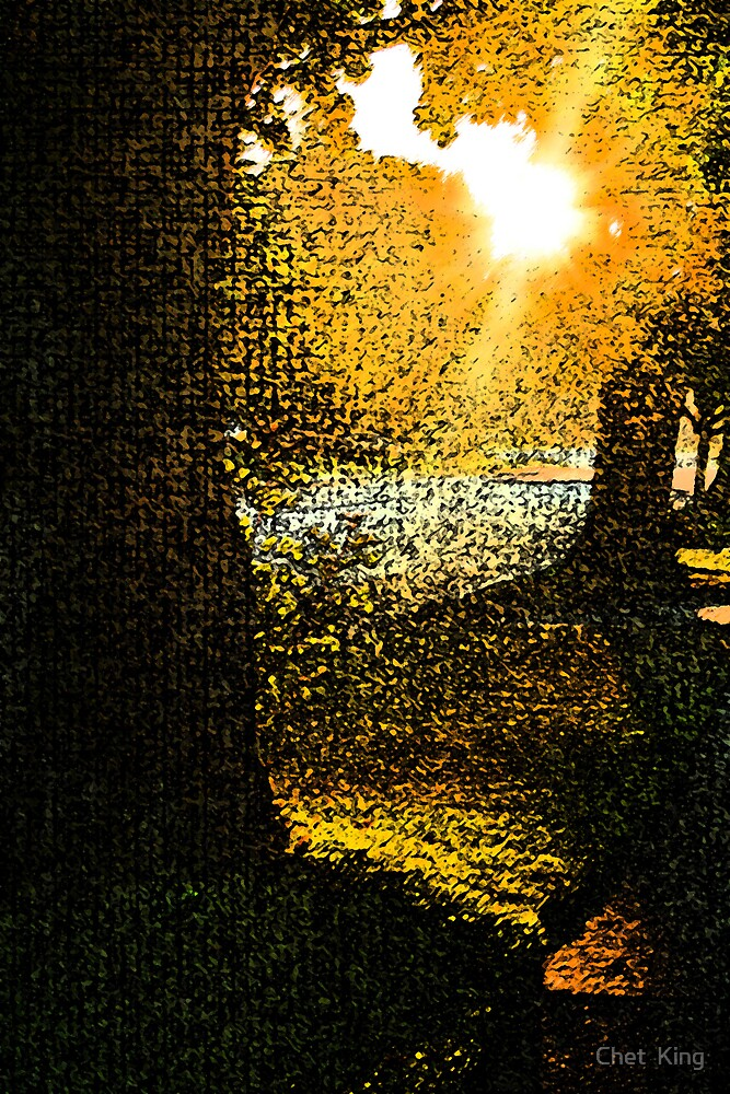 Neighborhood Sunrise by Chet  King