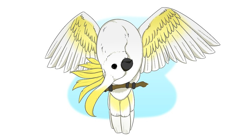 Silly Cockatoo by Fubble