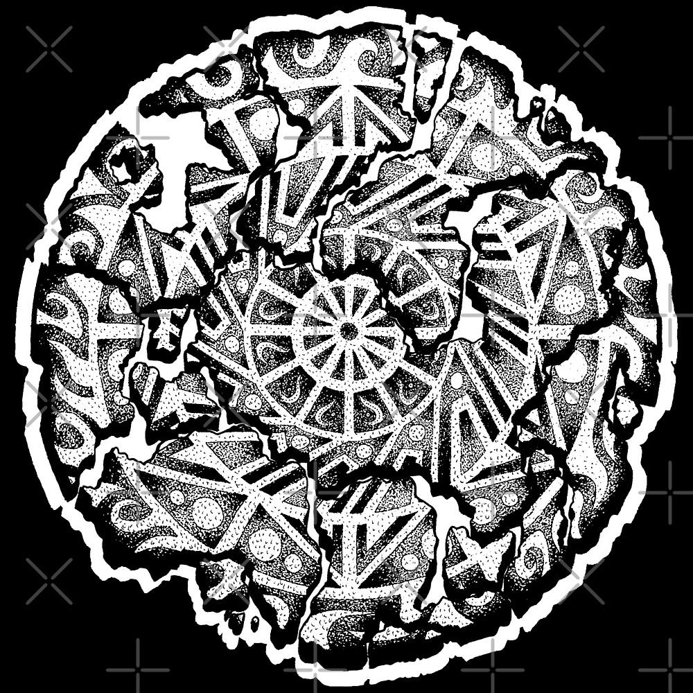 Stippling Broken Mandala by bobblehead1337