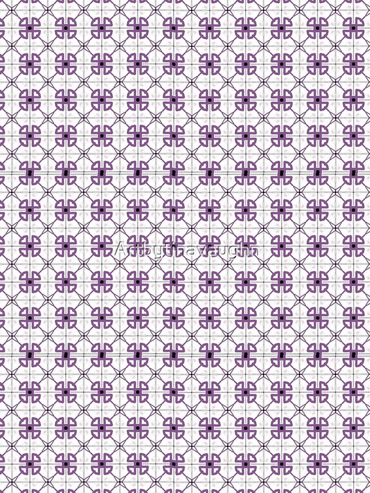 Purple Pattern  by Artbytinavaughn