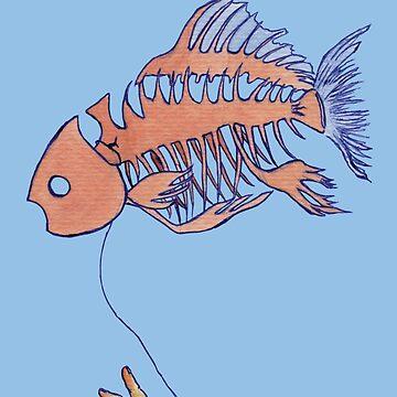 Mi pez flota para ti de Elvedee