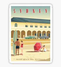 Sydney, Bondi Bathers Pavilion, 1960 Sticker
