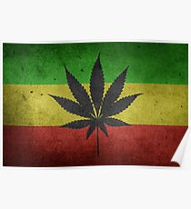 Weed Flag Poster