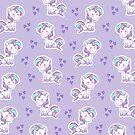 Unicorn Pattern by Jessica Slater