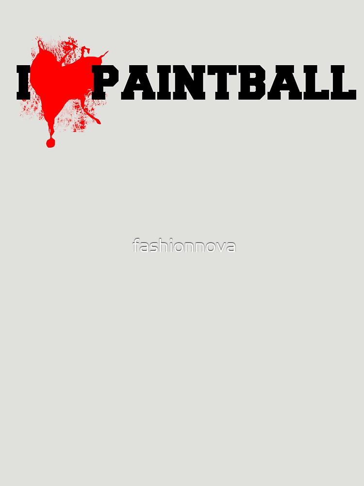 I love Paintball by fashionnova