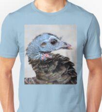 Neighborhood Wild Turkey Portrait T-Shirt