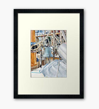 """Eight Bells"" Framed Print"