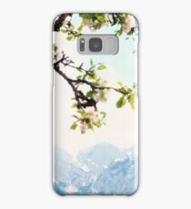 Apple Blossoms and Mountains  Samsung Galaxy Case/Skin