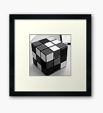Grey Scale Framed Print