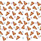 Pizza + Hearts by Jessica Slater