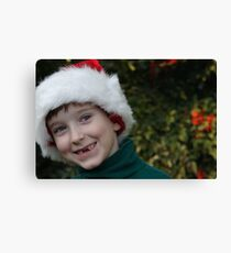 All I Want For Christmas Are My Two Front Teeth Canvas Print