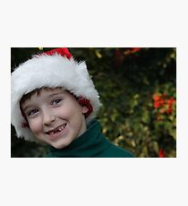 All I Want For Christmas Are My Two Front Teeth Photographic Print