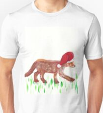 Volper with Christmas hat T-Shirt