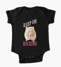 Rocking Hamster! One Piece - Short Sleeve