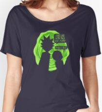 Oh Geez Rick Women's Relaxed Fit T-Shirt