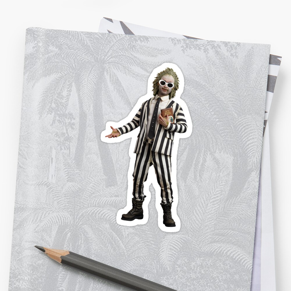 Beetlejuice but with clout by HeartEyesDesign