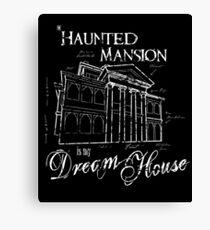 Haunted Mansion Dream House Canvas Print