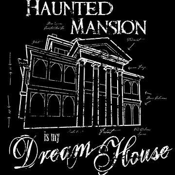 Haunted Mansion Dream House by direravenart