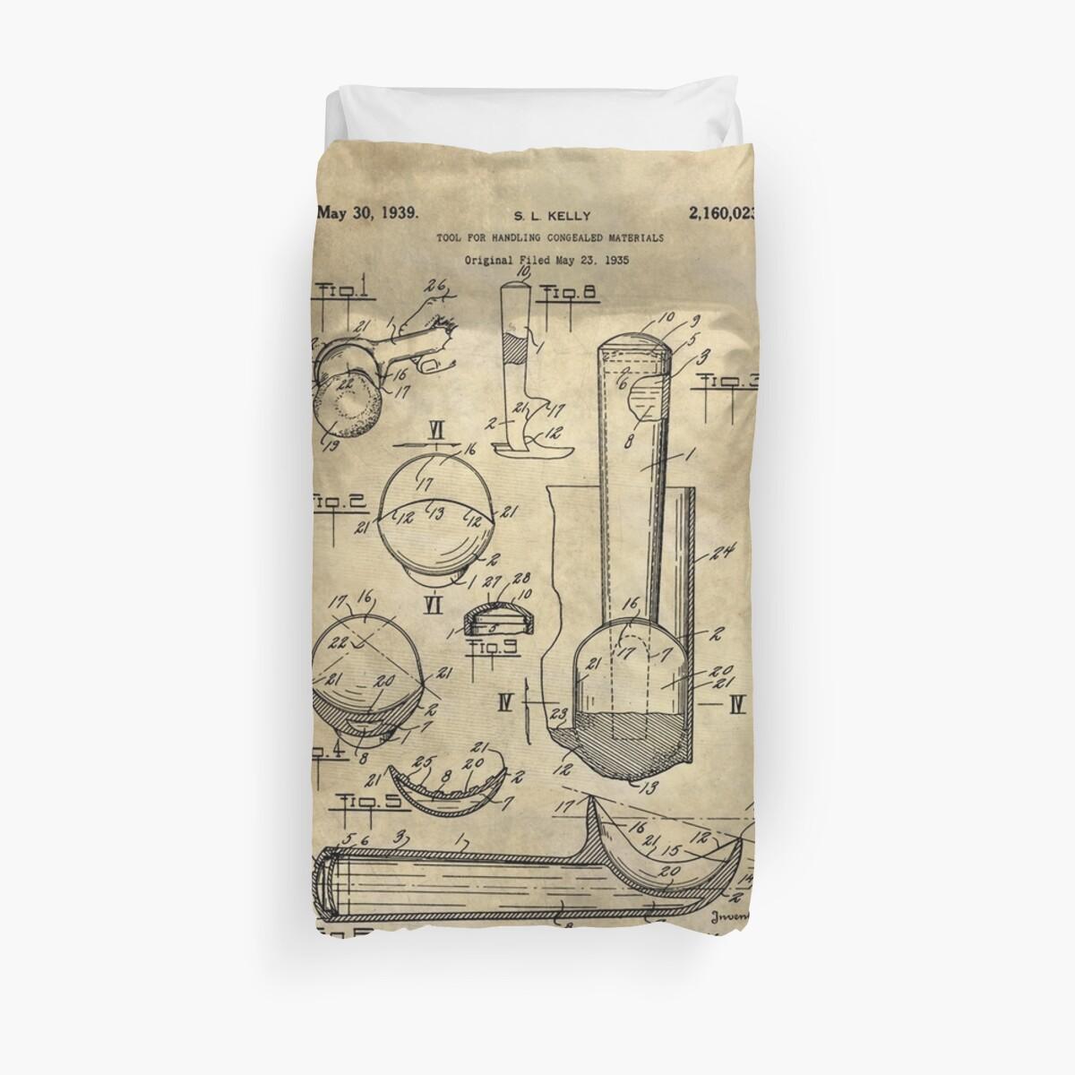 Ice cream scoop antique blueprint patent drawing 1939 kitchen art ice cream scoop antique blueprint patent drawing 1939 kitchen art by glimmersmith malvernweather Choice Image