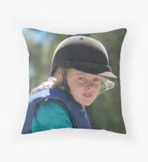 crash helmet Throw Pillow
