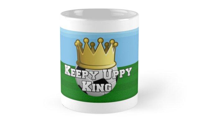 Official Keepy Uppy King Logo Mug by wotc