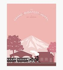 Grand Budapest Hotel Movie Tribute Photographic Print