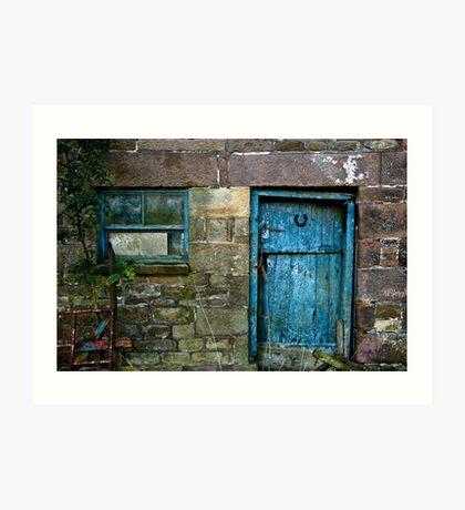 Rural Door Art Print