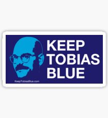 Keep Tobias Blue Sticker