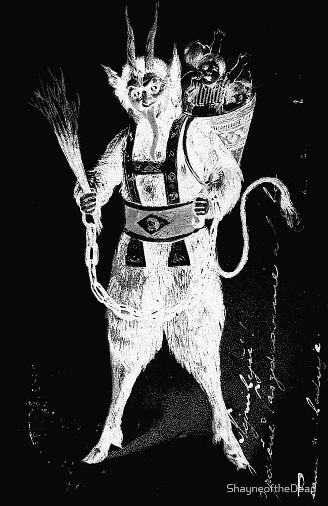 krampus Devil by ShayneoftheDead