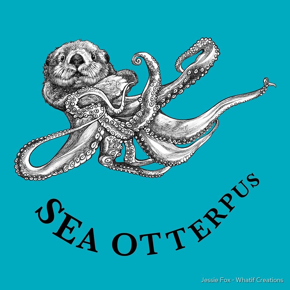 Sea Otterpus, Sea Otter + Octopus Hybrid Animal by Jessie Fox - Whatif Creations