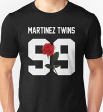 Martinez Twins - Rose Unisex T-Shirt
