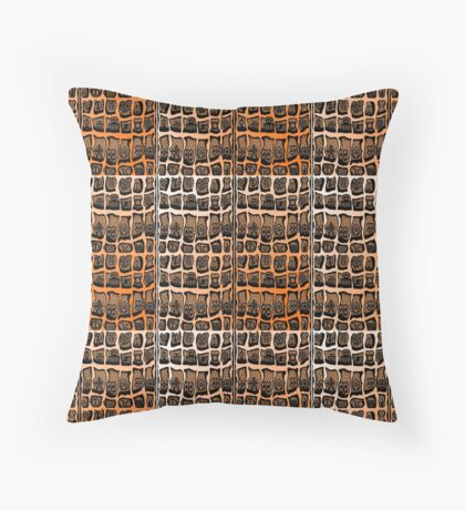 FIre Within  Floor Pillow
