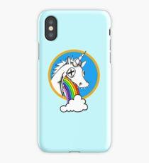 Drunk Unicorns Make Rainbows! iPhone Case