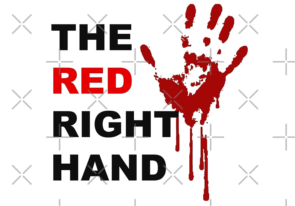 The Red right hand by wentworthspain