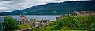 Urquart Castle on Loch Ness by Yukondick