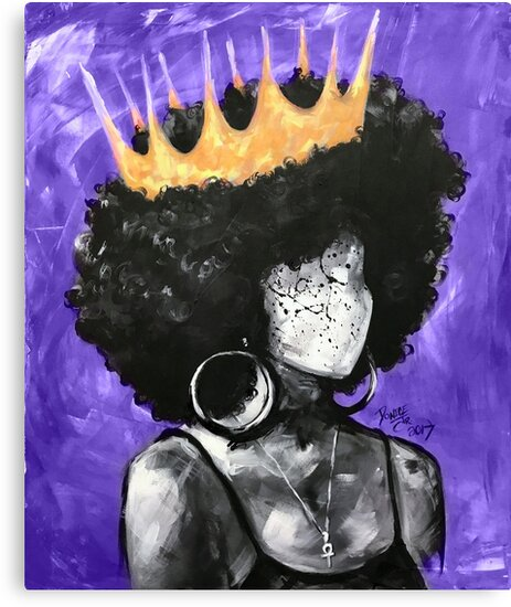 Naturally Queen II PURPLE  by DaCre8iveOne