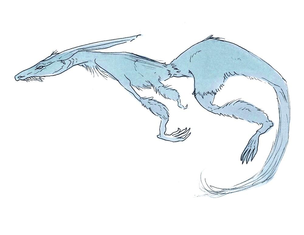 Blue boi by Johannimation