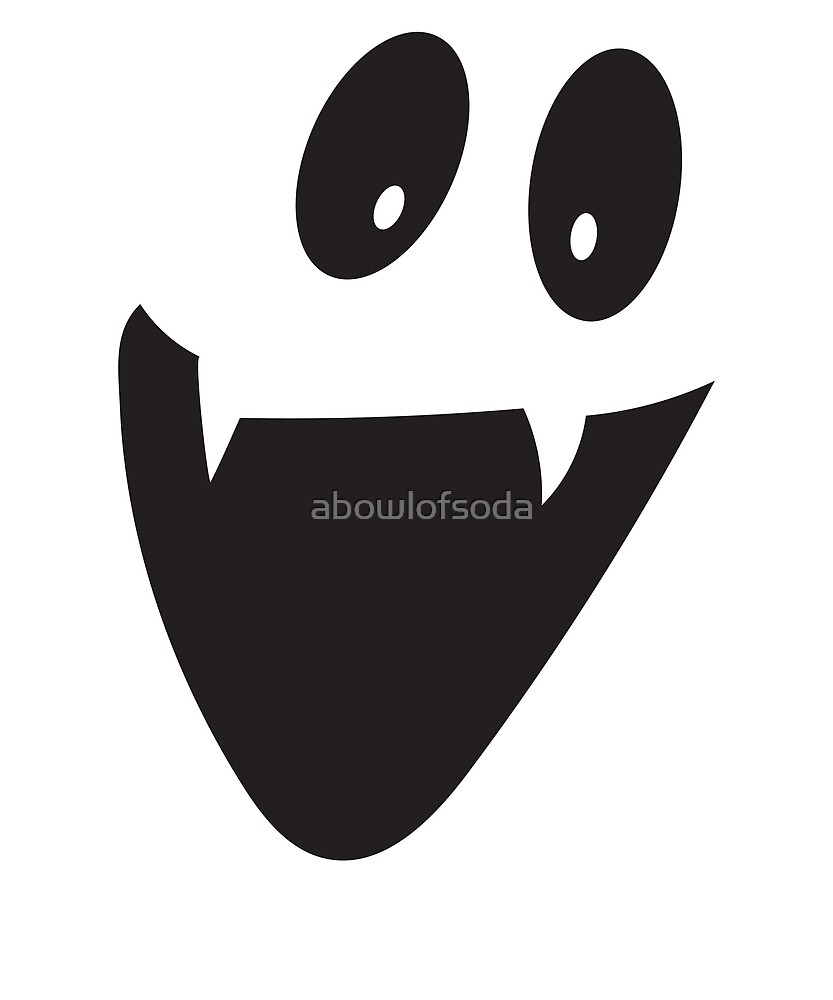 Smiling Vampire Ghost by abowlofsoda