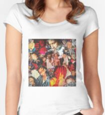 A Love Letter To You 2 - Trippie Redd Women's Fitted Scoop T-Shirt