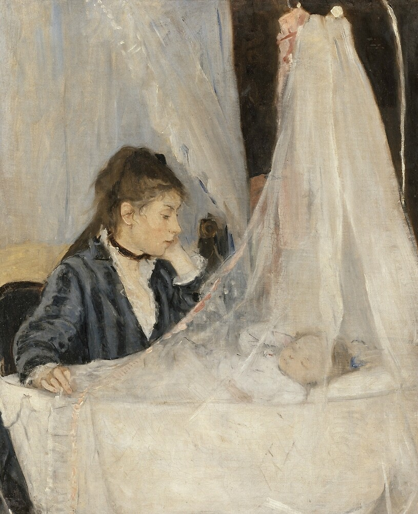 The Cradle by Berthe Morisot by classicartcache